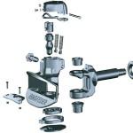 Tow Coupling Parts - Ringfeder 303 AUS