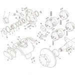 MERITOR DX & EX SERIES, AIR DISC BRAKE CS9 / 10.5