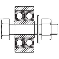 CV7468 Roller Rack Pinion