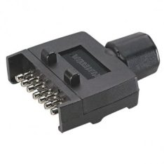 EL82141BL TRAILER PLUG 7 PIN FLAT PLASTIC 350x350