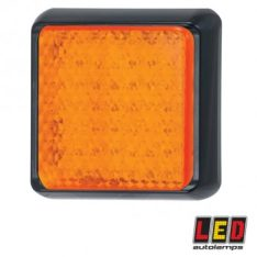 ELLED100AM LED LAMP AMBER INDICATOR SQUARE 350x350